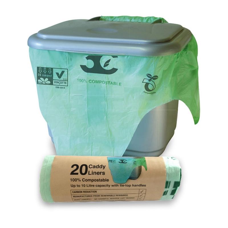 10 litre x 100 biobag compostable biodegradable food waste. Black Bedroom Furniture Sets. Home Design Ideas