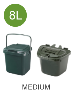 7 litre (7L) compostable caddy liners