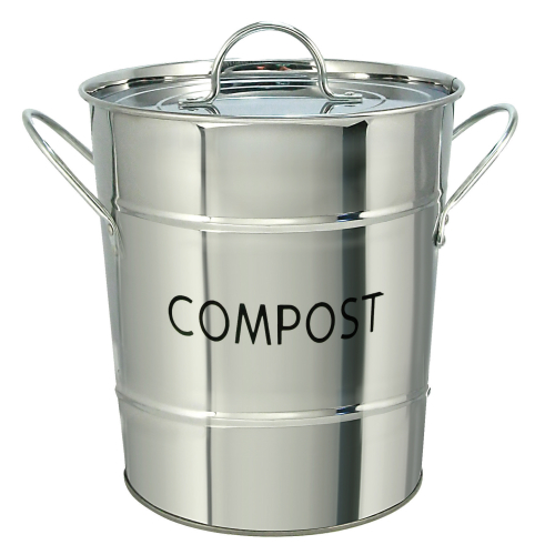 Etonnant Eddingtons   Compost Pail / Kitchen Caddy   Stainless Steel