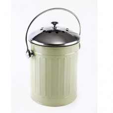 Eddingtons - Deluxe Compost Pail / Kitchen Caddy - Sage Green