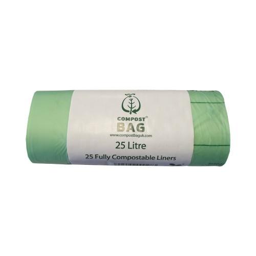 25 litre x 25 biobag compostable biodegradable kerbside. Black Bedroom Furniture Sets. Home Design Ideas