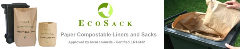 EcoSack Paper Liners and Sacks