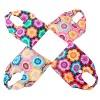 ECO-CHIC Foldable Shopper - Sun Flower Design