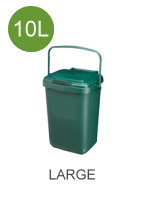 10 litre (10L) compostable caddy liners