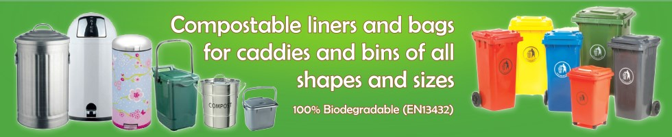 Compostable Caddy Liners and Bin Bags